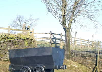 Old coal waggon from Pony Powered colliery